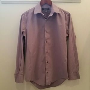 Banana Republic Purple Gingham Button-down Size Sm